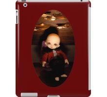 Cute Captain (Oval Version) iPad Case/Skin