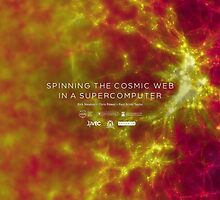 Spinning the Cosmic Web in a Supercomputer by icrar