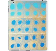 aqua bay iPad Case/Skin