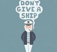 Indifferent Captain by Teo Zirinis