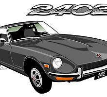 Datsun 240Z grey by car2oonz