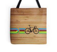 Bike Stripes World Track Champion Tote Bag