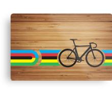 Bike Stripes World Track Champion Metal Print