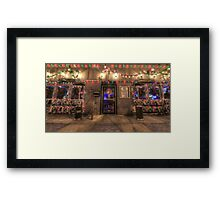 Happy Holidays from Bourbon Street Saloon Harrisburg Framed Print