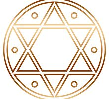 Hexagram, ✡ , Magic, Merkaba, David Star, Solomon by nitty-gritty