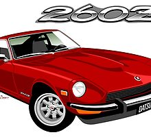 Datsun 260Z red by car2oonz