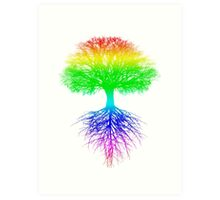 Sunshine, Lollypops and Rainbows Art Print