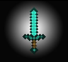 Minecraft Sword - Bigger and Better by atlantum