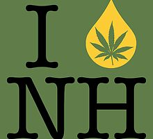 I Dab NH (New Hampshire) by LaCaDesigns