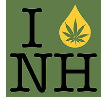 I Dab NH (New Hampshire) Photographic Print