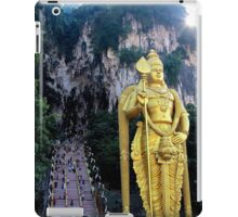 The Caves Climb - Batu Caves, Malaysia. iPad Case/Skin