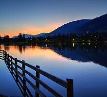 Uttendorfer See, Austria by Mythos57
