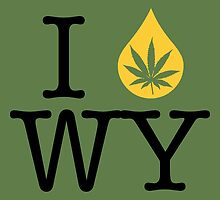 I Dab WY (Wyoming) by LaCaDesigns