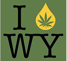 I Dab WY (Wyoming) Photographic Print