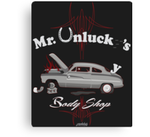 Mr. Unlucky's Canvas Print