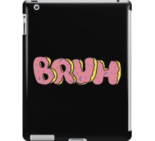 BRUH - OF Donut Style - Odd Future Wolf Gang Kill Them All iPad Case/Skin