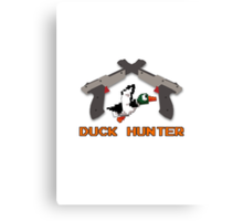 Duck Hunter Canvas Print