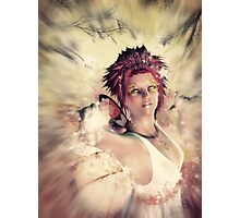 Autumn fairy spirit Photographic Print