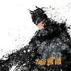 BATMAN (splatter) by kieyard