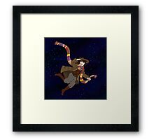 4th Doctor! Framed Print