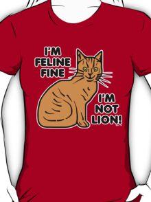 Funny Cat Pun Humor T-Shirt