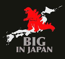 Godzilla - Big in Japan Funny by Mellark90