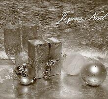 Joyeux Noel (Sepia) by Jan Vinclair