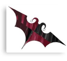 Batquinn logo Canvas Print
