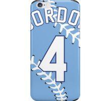 Alex Gordon Baseball Design iPhone Case/Skin