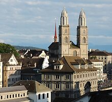 Zurich - Without The Gnomes... by Alexandra Lavizzari