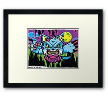 Bleeder of the Pack Framed Print