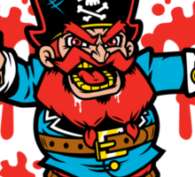 Captain Redbeard Sticker