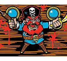 Captain Redbeard Photographic Print