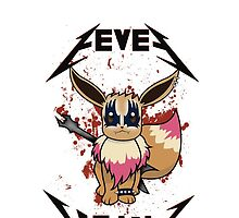 Eevee Metal by alwaid
