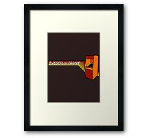 Classically Trained Video Gamer Framed Print