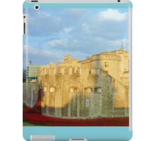 Blood Filled Moat - Tower of London iPad Case/Skin