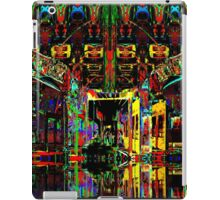 PSYCHEDELIC PARKING LEVEL iPad Case/Skin