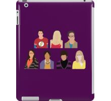 The Big Bang Theory Cast - Minimalist design iPad Case/Skin