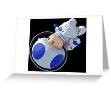 Toad In Space Greeting Card