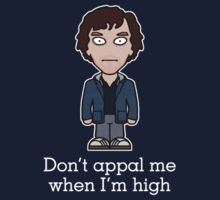 Scruffy Sherlock (shirt) by redscharlach