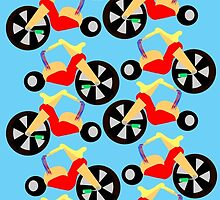 Big Wheel Pattern by mytshirtfort