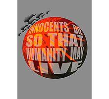 Exterminatus Quote Photographic Print