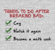 Things To Do After Breaking Bad by ScottW93