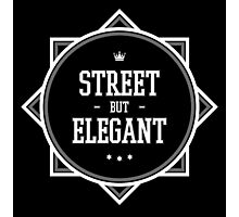 Street But Elegant Clothing. Photographic Print
