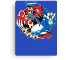 Primal Balance Omega Ruby & Alpha Sapphire T-shirt Canvas Print