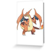 Mega Evolution Charizard Y Greeting Card