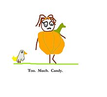 jenny quips:  Too Much Candy! by JennyQuips