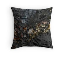 Black Waters 5 Throw Pillow