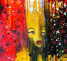 La Reine se Transforme - Painting by William Wright