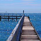 Sorrento Pier Victoria Australia by Ronald Rockman